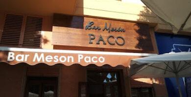 Bar Mesón Paco