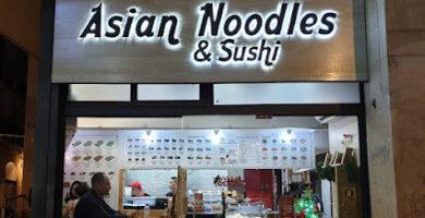 Asian Noodles & Sushi